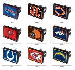 NFL Trailer Hitch Cap Cover Universal by WinCraft -Select- T