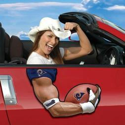Arm Magnet NFL Car Magnet left or drivers side many teams av