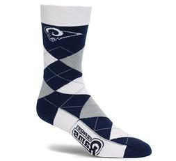 For Bare Feet Los Angeles Rams Argyle Socks