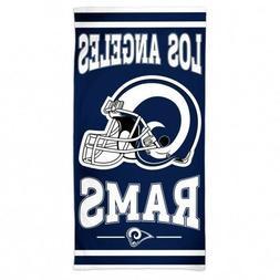 "Beach Towels 30"" x 60"" Fiber Reactive - NFL Los Angeles Rams"