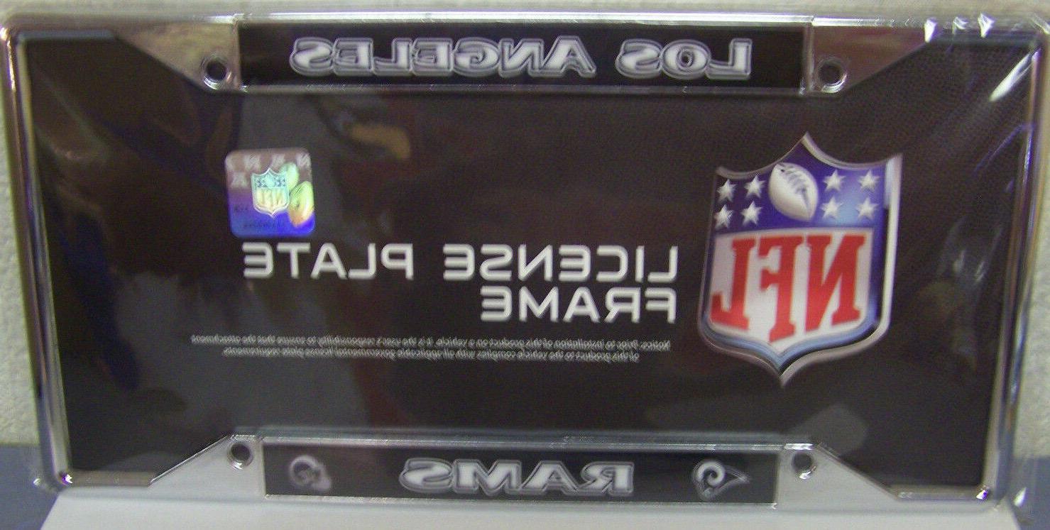 1 los angeles rams license plate frame