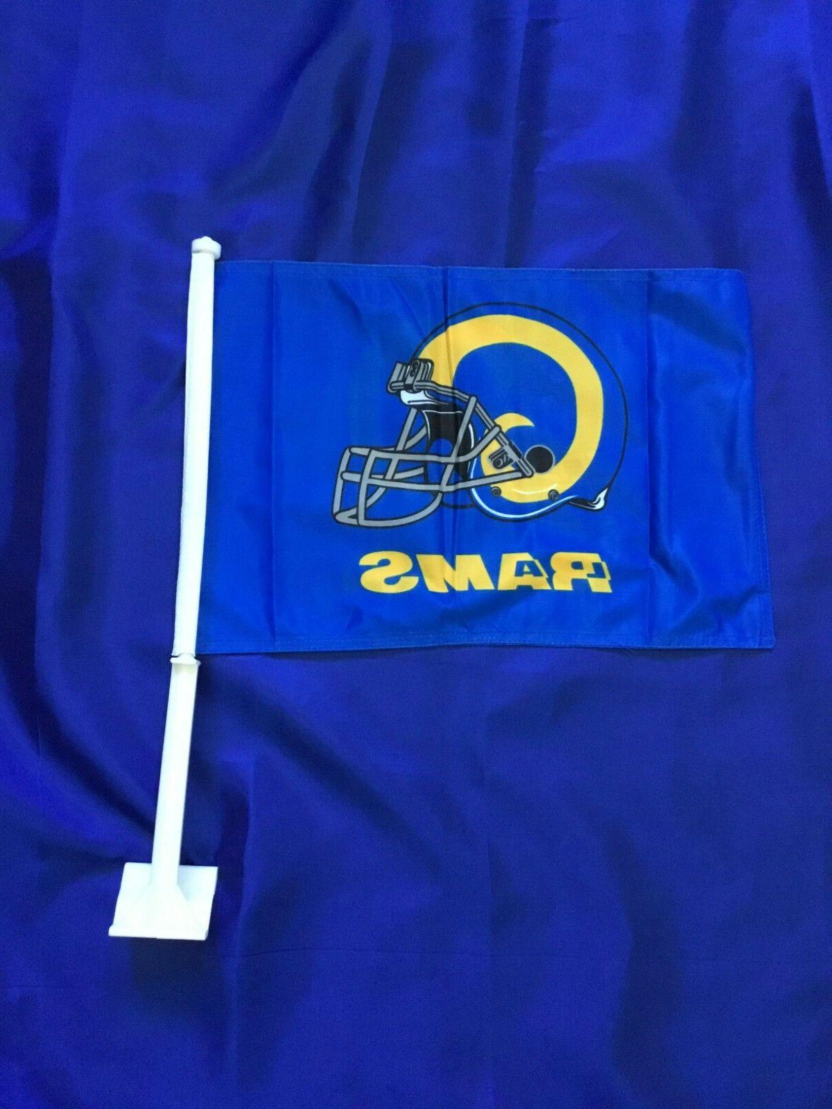double sided retro style los angeles rams