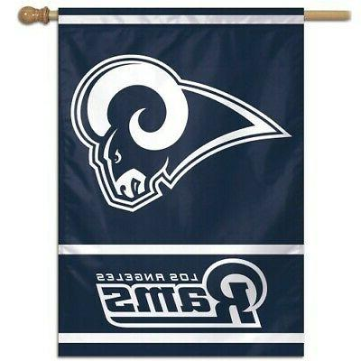 los angeles rams 1 official nfl 28x40