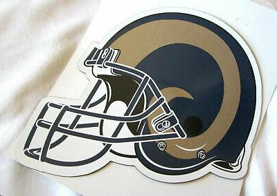 los angeles rams auto car magnetic sign