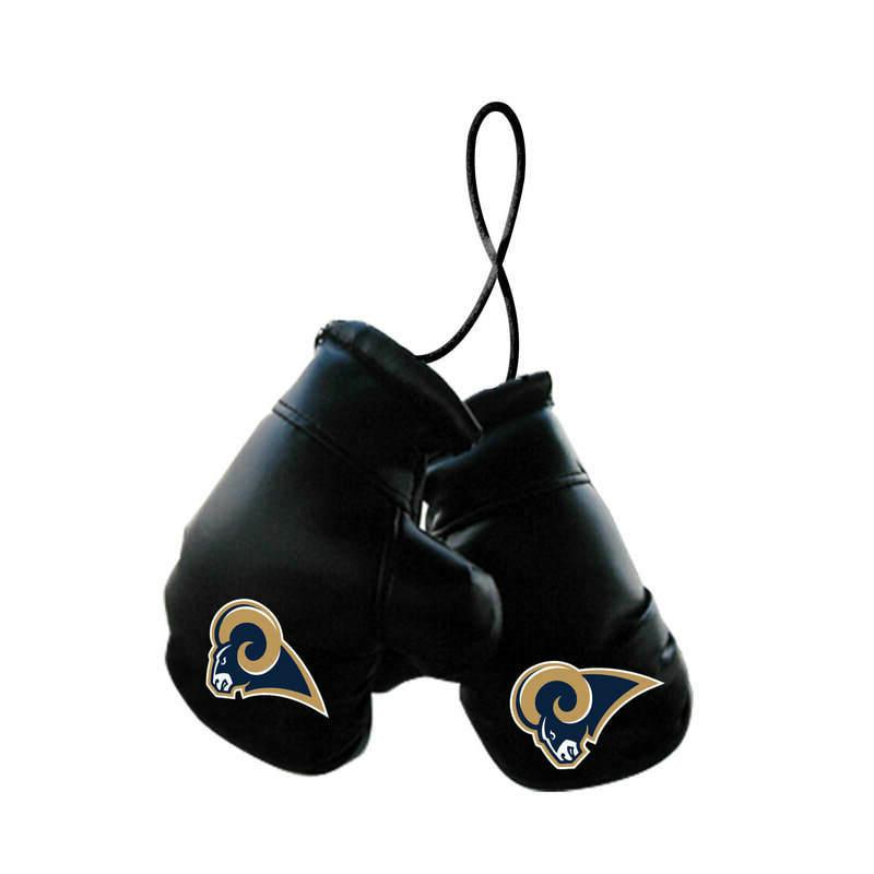 los angeles rams nfl mini boxing gloves