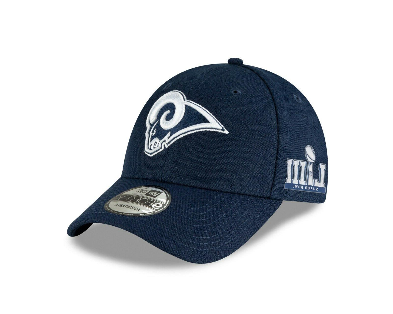 los angeles rams super bowl liii side