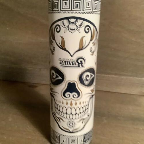 DEAD CANDLE GLASS 8 INCH BLUE NEW