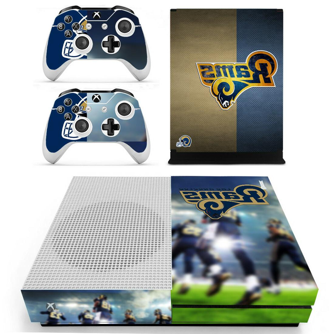 xbox one s los angeles rams vinyl