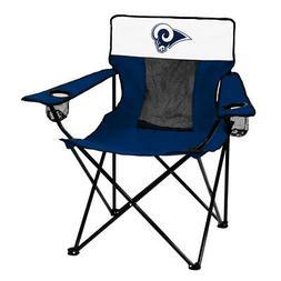 LA Rams NFL Elite Folding Tailgate Chair