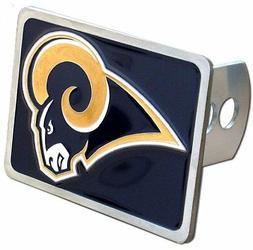 LA Rams  Rectangle Logo Trailer Hitch Cover ~ New