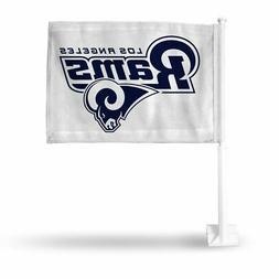 Los Angeles LA Rams NFL 11X14 Window Mount 2-Sided Car Flag