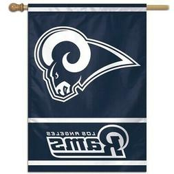 LOS ANGELES RAMS ~  Official NFL 28x40 Outdoor House Flag Ba