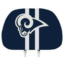 Los Angeles Rams 2-Pack Color Print Auto Car Truck Headrest