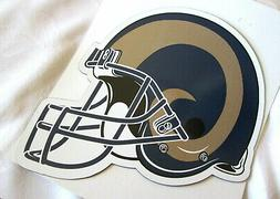 LOS ANGELES RAMS AUTO CAR MAGNETIC SIGN #1 - NEW