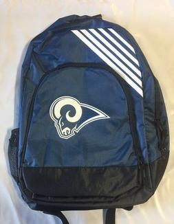 Los Angeles Rams BackPack Back Pack Book Sports Gym School B