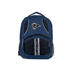 Los Angeles Rams Backpack Captain Design  NFL Bag Backsack B