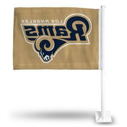 Los Angeles Rams Car Flag.  Printed both sides. SAVE   #A121
