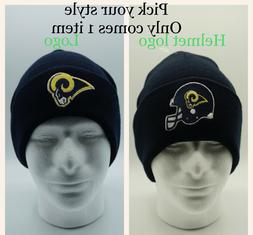 Los Angeles Rams embroidered logo beanies unisex adult NFL s