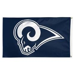 LOS ANGELES RAMS FLAG 3'X5' NFL LOGO BANNER: FREE SHIPPING !