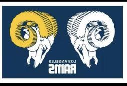 LOS ANGELES RAMS FLAG 3'X5' NFL LOGO BANNER Football Blue Ye