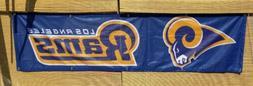 Los Angeles Rams flag Helmet 2ft x 8ft LA Rams tailgate bann