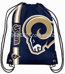 Los Angeles Rams Football Logo Drawstring Bags Men Sports Ba