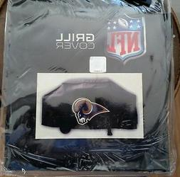 Los Angeles Rams Grill Cover - New 21 x 35 x 68 - Rico Black