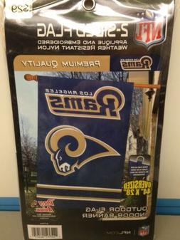 Los Angeles Rams Indoor/Outdoor Flag - New!