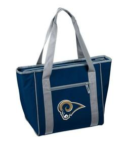 Los Angeles Rams Insulated Cooler Sport Tote Bag, Black NFL