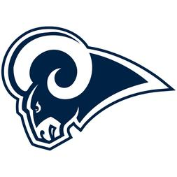 Los Angeles Rams LA NFL Car Truck Window Decal Sticker Footb