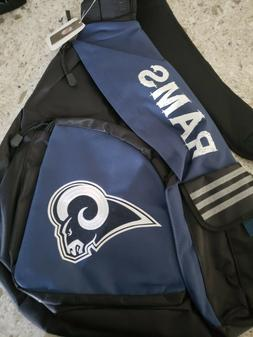 Los Angeles Rams Leadoff Sling Travel Backpack