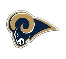 Los Angeles Rams Logo Car or Truck Large Magnet