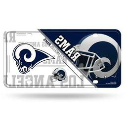 Los Angeles Rams Metal License Plate  NFL Tag Auto Truck Car