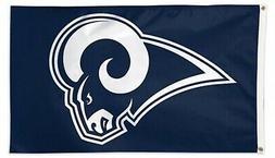 Los Angeles Rams NEW COLORS Premium 3x5 Flag w/Grommets Outd