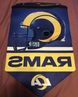 """Los Angeles Rams """"NEW LOGO"""" Banner 17x26 NFL"""