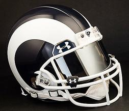 LOS ANGELES RAMS NFL Authentic GAMEDAY Football Helmet w/ MI
