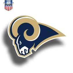Los Angeles Rams NFL Football Color Logo Sports Decal Sticke
