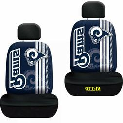 Los Angeles Rams NFL Printed Logo Car Seat Cover-Set of Two