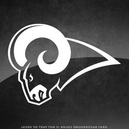 "Los Angeles Rams NFL Vinyl Decal Sticker - 4"" and Larger - 3"