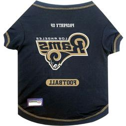 Los Angeles Rams Officially Licensed NFL Dog Pet Tee Shirt,