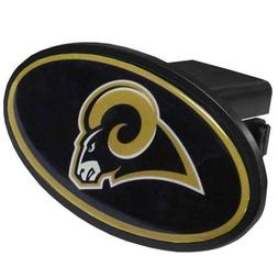 Los Angeles Rams Plastic Oval Trailer Hitch Cover