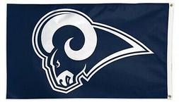 Los Angeles Rams Premium 3x5 Flag w/Grommets Outdoor House B