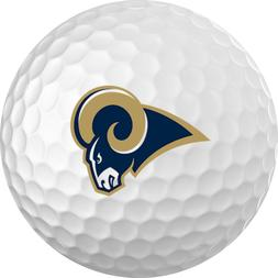 Los Angeles Rams Titleist ProV1 Refinished NFL Golf Balls 12