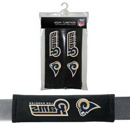 Los Angeles Rams Seat Belt Cover Shoulder Pads NFL Strap Foo