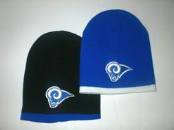 Los Angeles Rams Short Beanie Hat Winter Skull Cap LA Pick Y