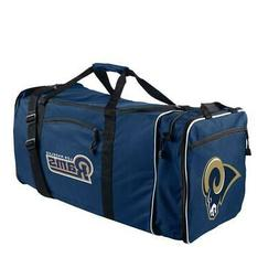 Los Angeles Rams Steal Design Duffel Bag  NFL Backpack Back