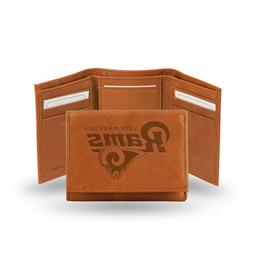 Los Angeles Rams TRIFOLD STANDARD Authentic Embossed Leather