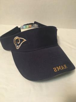 Los Angeles Rams Visor Adjustable NFL Game Day Sun Visor Foo