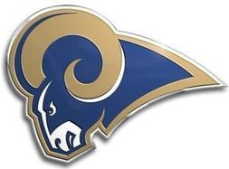 St. Louis Rams Color Auto Emblem - Die Cut