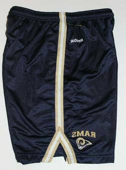 Men's new Reebok Basketball Los Angeles Rams Shorts Size Med
